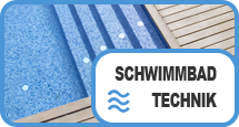 Schwimmbad Button